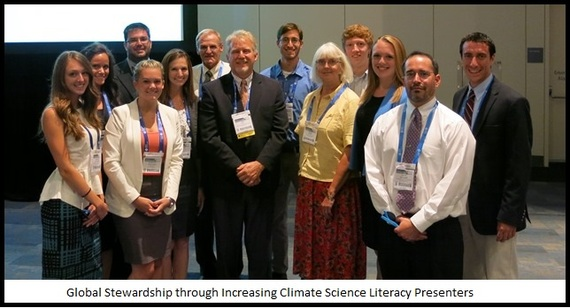 Hope for the Future: How American Chemical Society Student Representatives Increase Climate Science Literacy