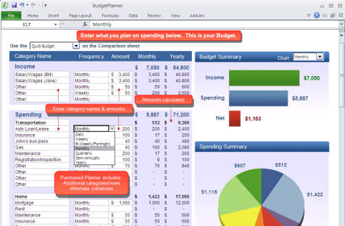 5 Household Budget Templates That Will Help If You Actually Stick – Budget Spreadsheet Excel