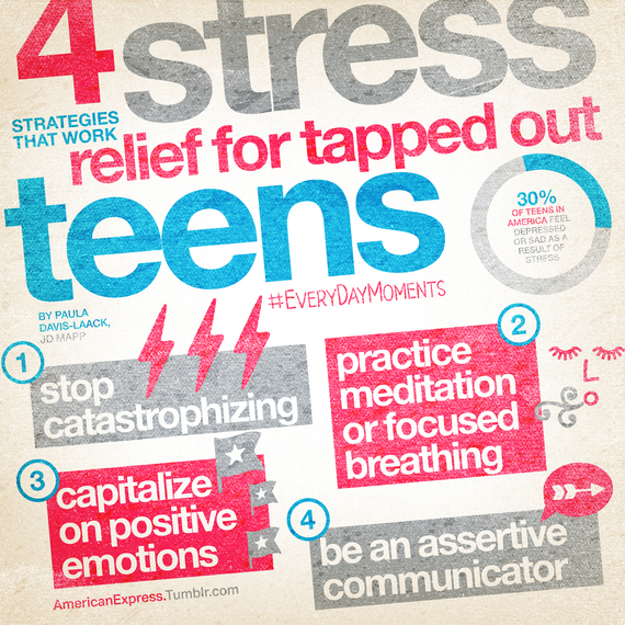 stress relief homework