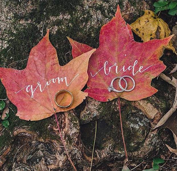 10 Of Our Favorite Fall Wedding Ideas Huffpost Life