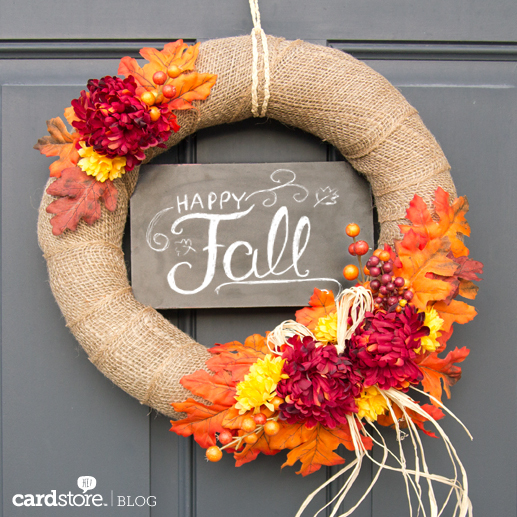 7 DIY Fall Wreaths They Won't Believe You Made Yourself