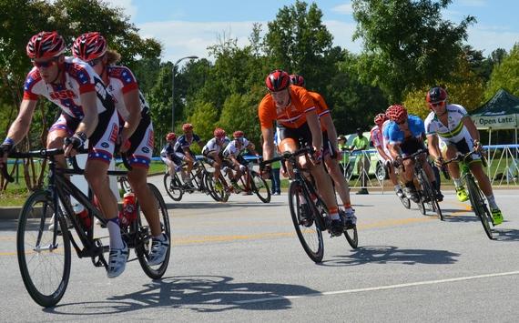 2014-09-08-DaveSwansonandClarkRachfalin2014ParacyclingWorldChampionshipRoadRace.JPG