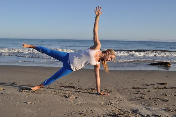 Side Plank Nora Tobin workout
