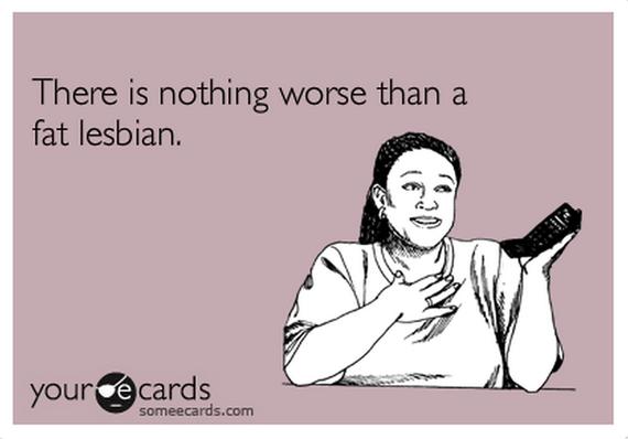 Fat thin lesbians
