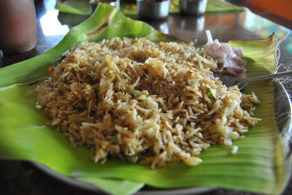 2014-09-11-Foodservedonabananaleaf.JPG