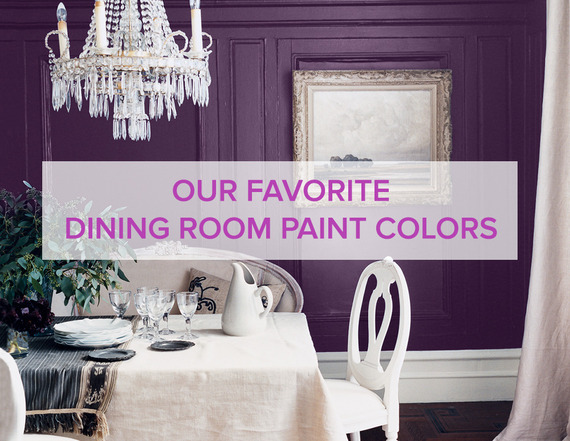 dining room paint colorsThe Best Dining Room Paint Colors  HuffPost