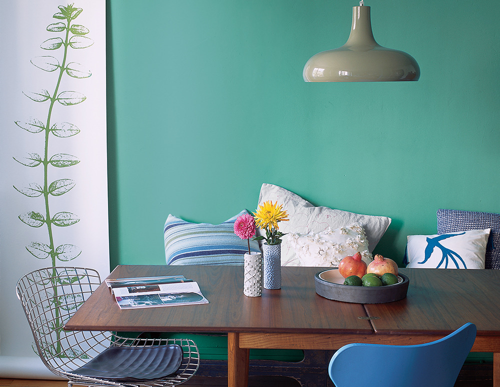 The best dining room paint colors huffpost for Colores de pintura para sala