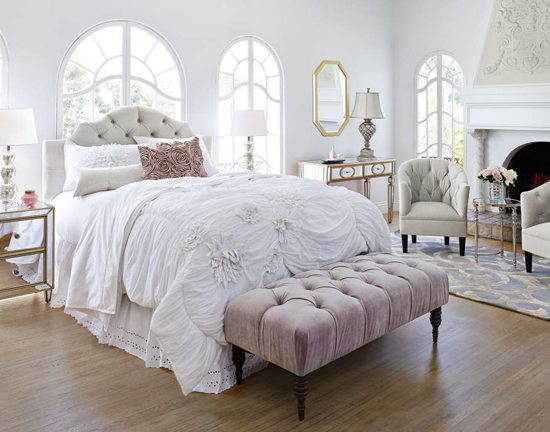 Beau French Inspired Bedroom