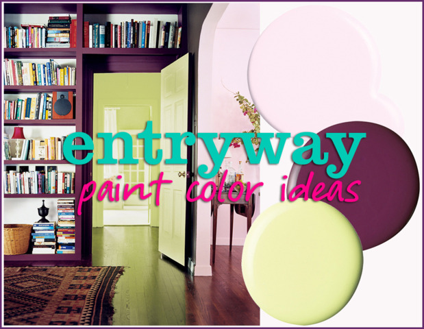 Paint Colors For Foyers 10 fresh entryway paint color ideas | huffpost