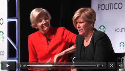 VIDEO: With Senator Warren Watching, Suze Orman Denies, Admits, Rationalizes Teaching at University of Phoenix