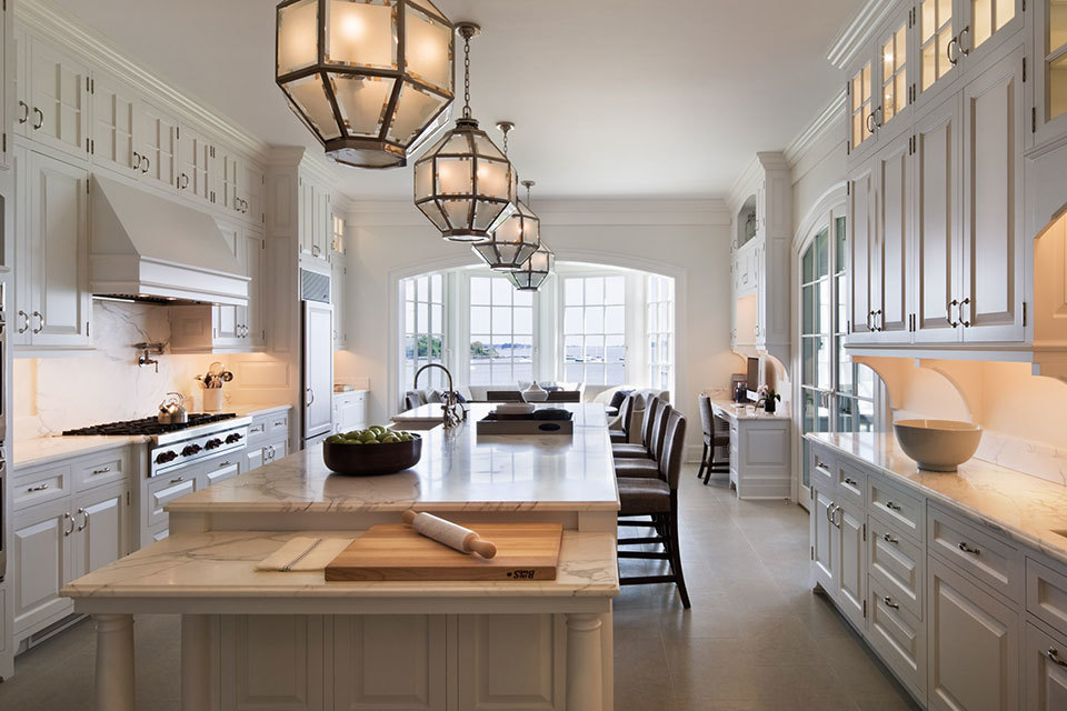 White Kitchen 2014 12 luxury all-white kitchens with a tasteful attention to detail