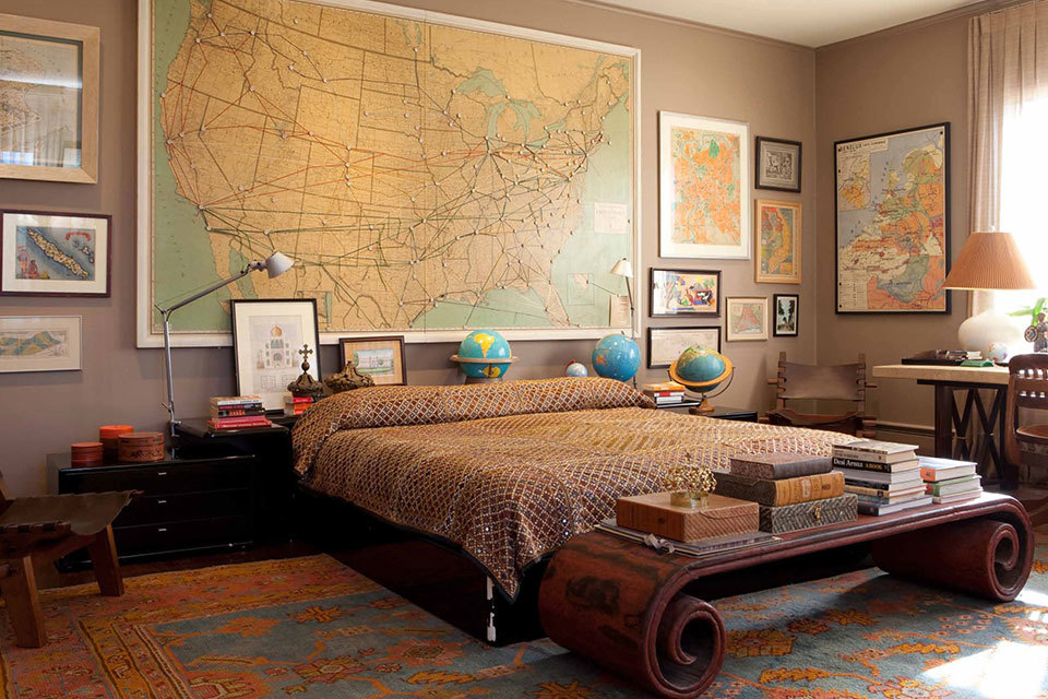 Manly Bedrooms 7 stately and masculine bedrooms | huffpost