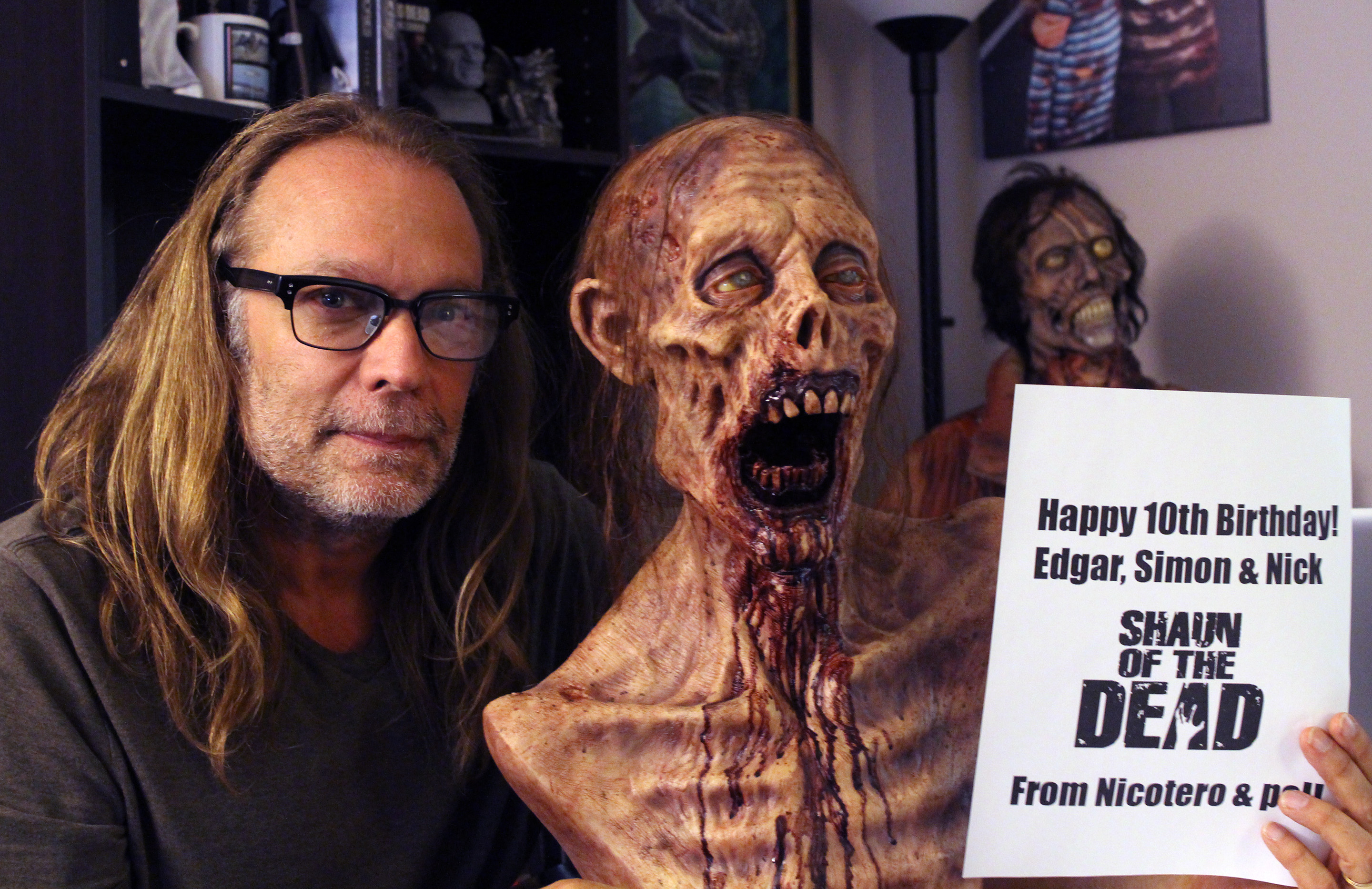 greg nicotero married