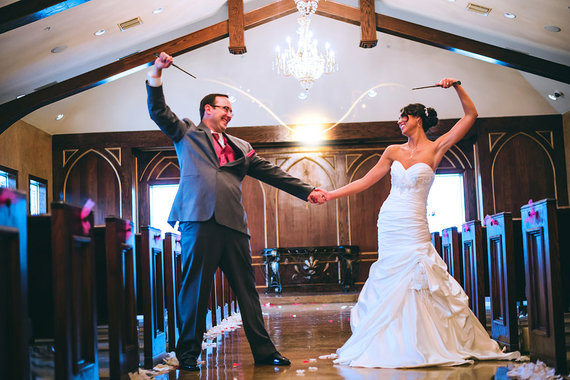 These 7 Super Cool Weddings Will Make You Question Your