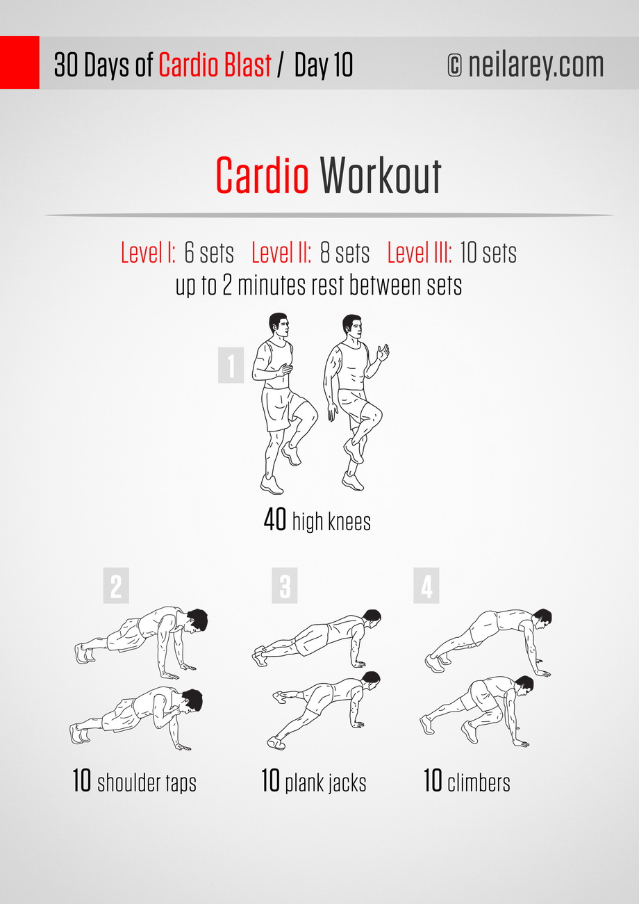 Easy Home Cardio Workouts  How To Get Into Incredible Shape