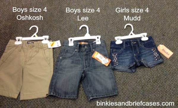 Girls clothes too short for the