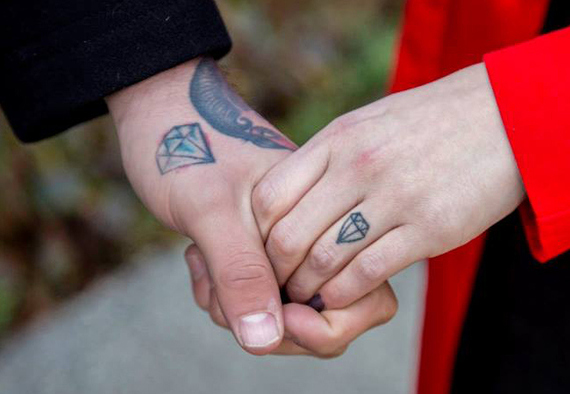 8 tattoo wedding ring ideas that show your commitment for for Covering tattoos for wedding
