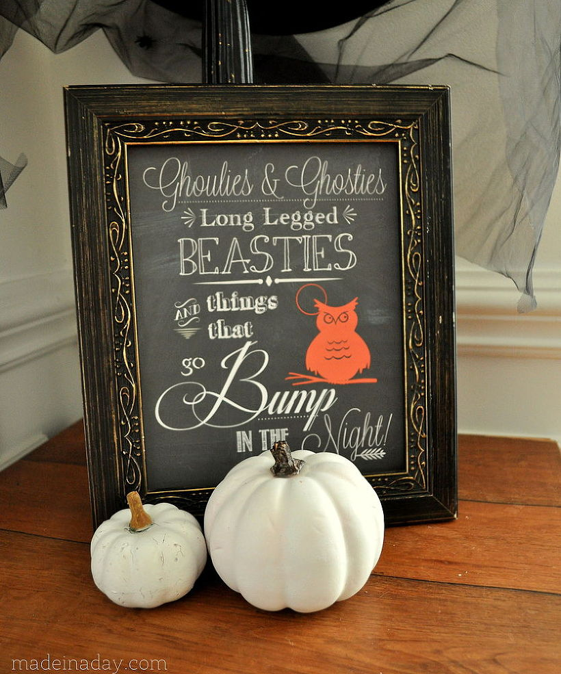 10 Spooky-Chic Halloween Decorations