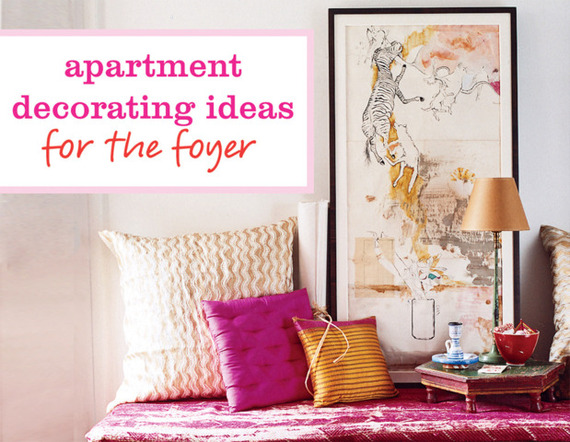 6 Smart Apartment Decorating Ideas For The Foyer