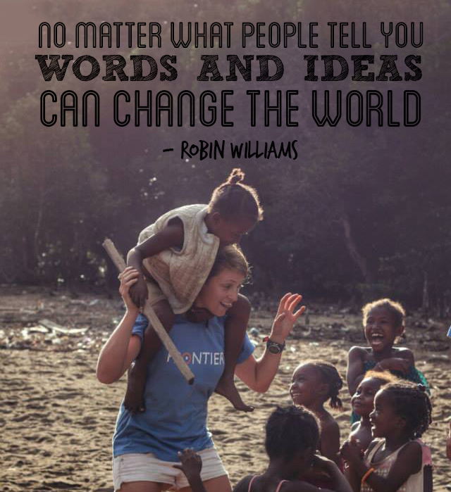 Volunteer Sayings Inspirational Quotes: 10 Best Inspirational Travel And Volunteering Quotes