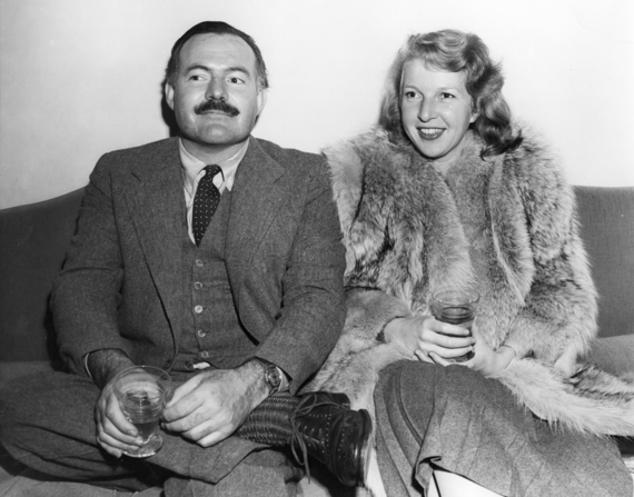 Hemingway, Gellhorn and Capa at the Hotel Florida in 1930s ...
