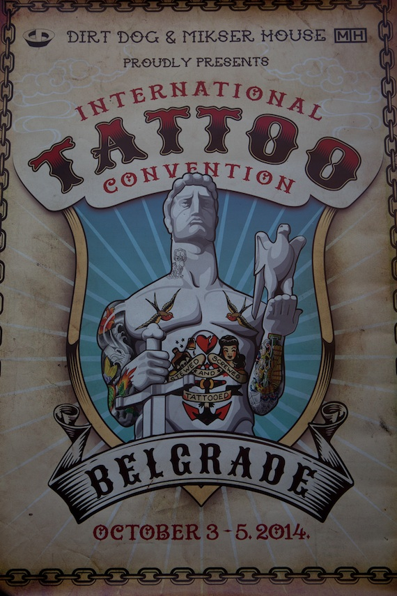 In pictures belgrade international tattoo convention 2014 for Upcoming tattoo conventions