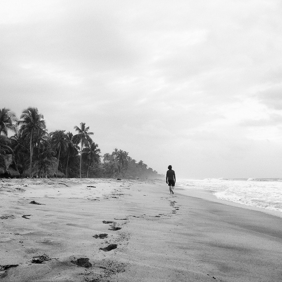 Lonely Palomino beach