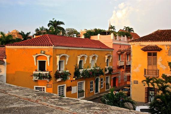 Cartagena colonial buildings