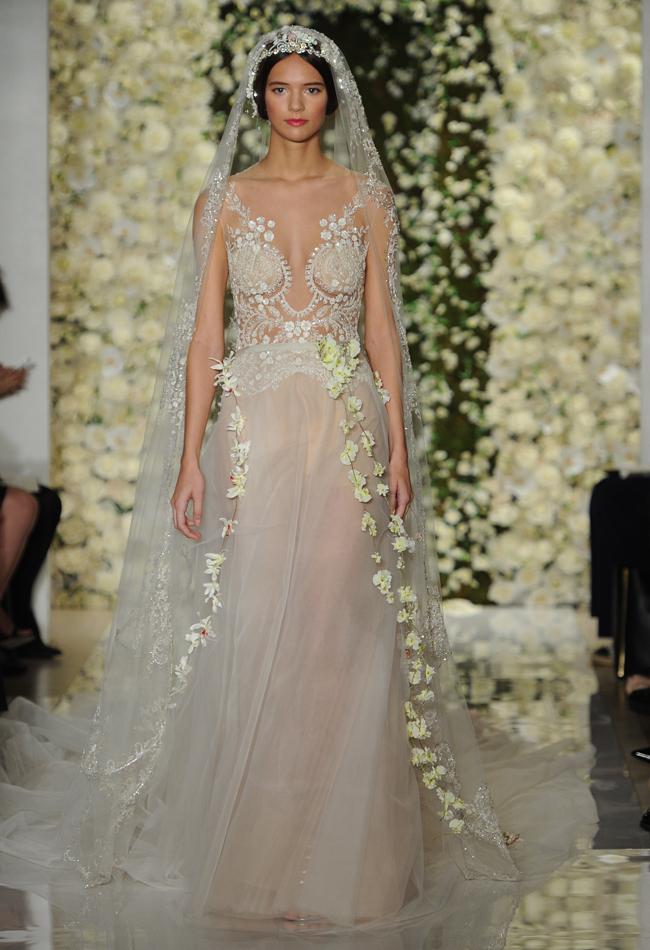 Naked dress trend hits Bridal Fashion Week | Stuff.co.nz