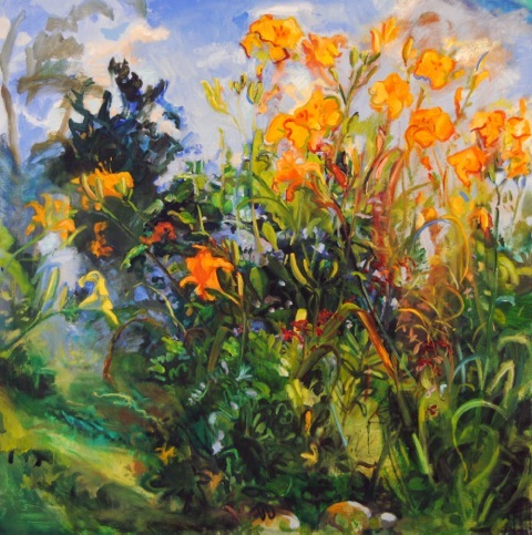 2014-10-12-Lieberman_SquareLilies_oil_48x48.jpeg