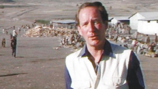 Michael Buerk in Ethiopia