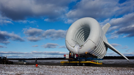Airborne Wind Power: High Flying Wind Turbine   Climate