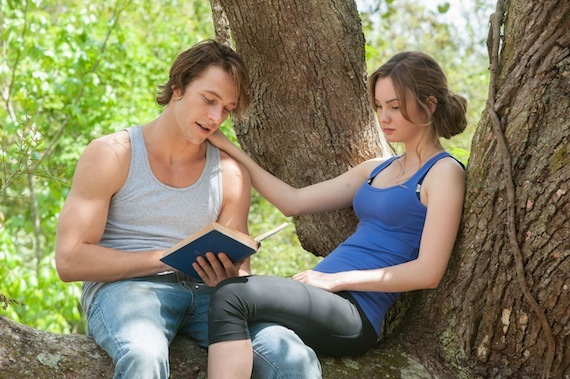 luke bracey and liana liberato on young love and kissing