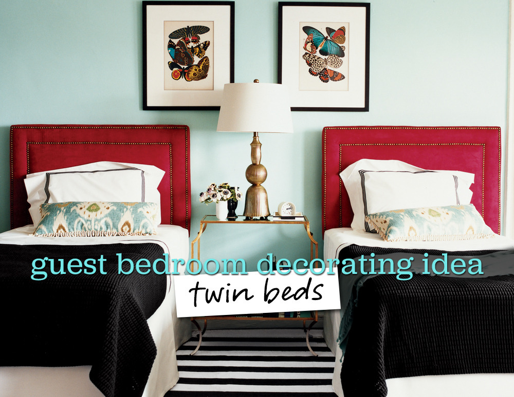 5 Charming Ways To Decorate A Guest Bedroom With Twin Beds