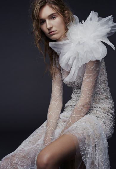 Vera Wang Fall 2015 Wedding Dresses Are Cool And Seductive HuffPost