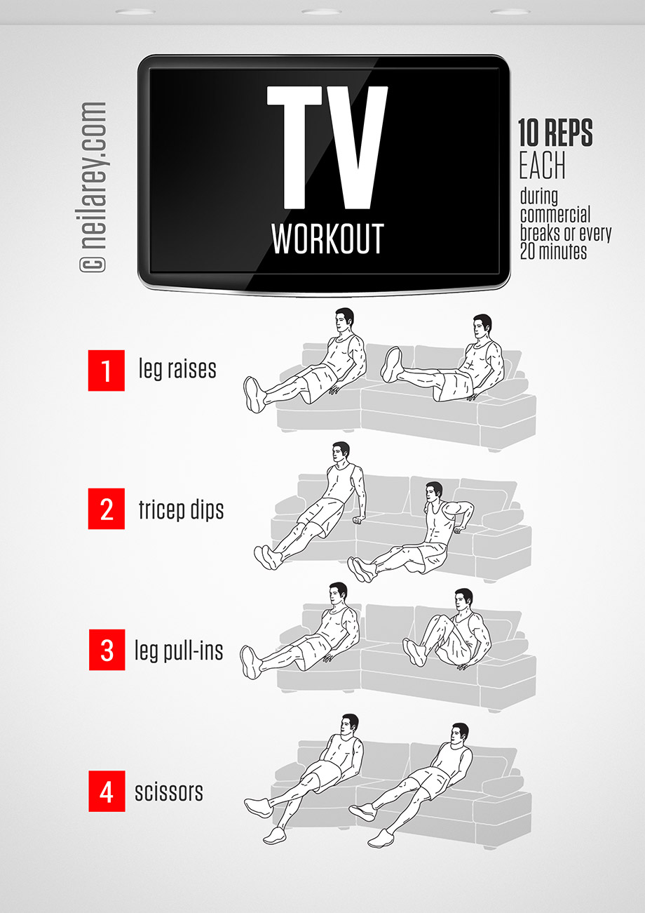 Get Fit While Watching Tv Huffpost