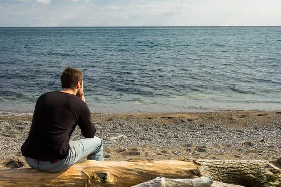 Man Contemplating His Future | Shutterstock