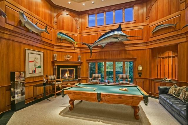Pool Table Room Layout