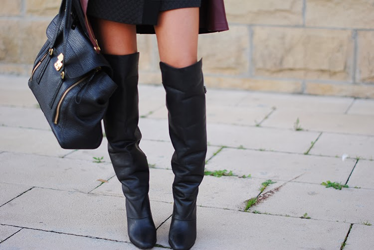 Walk This Way: 3 Ways to Wear Over-the-Knee Boots | The Huffington ...