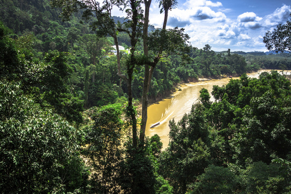 asia south east thailand trips central khao national park waterfalls jungle trails