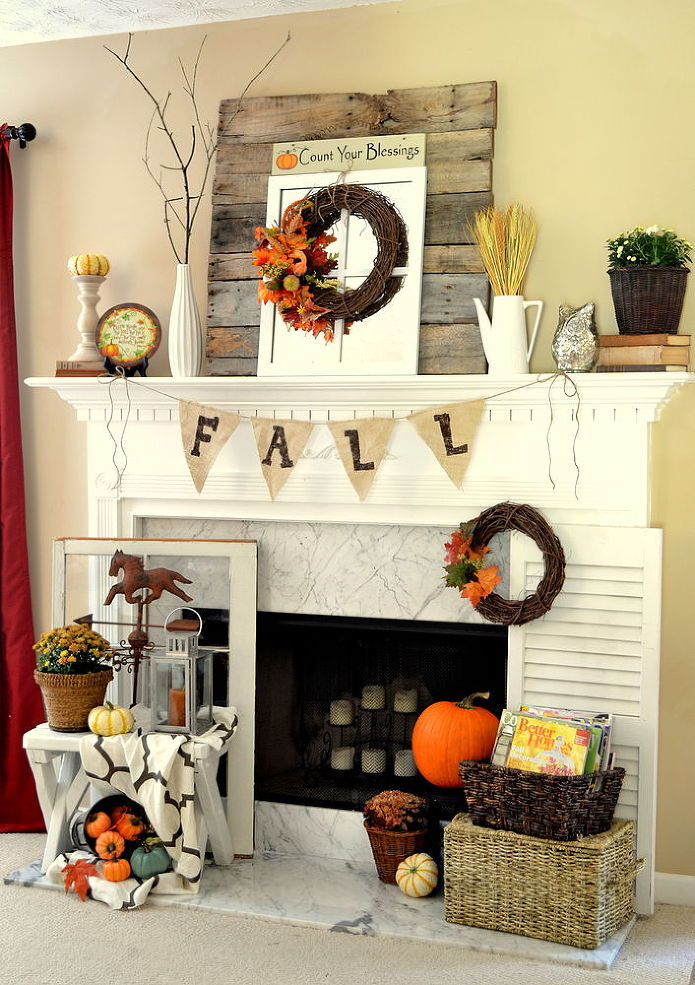 The 26 Most Amazing Fall Mantels Youu0027ve Ever Seen (In Every Style Youu0027ve  Ever Imagined!)