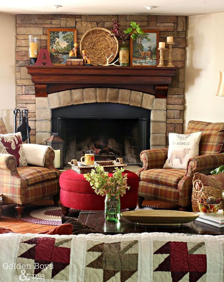 Tv In Corner Of Room Design: The 26 Most Amazing Fall Mantels You've Ever Seen (In