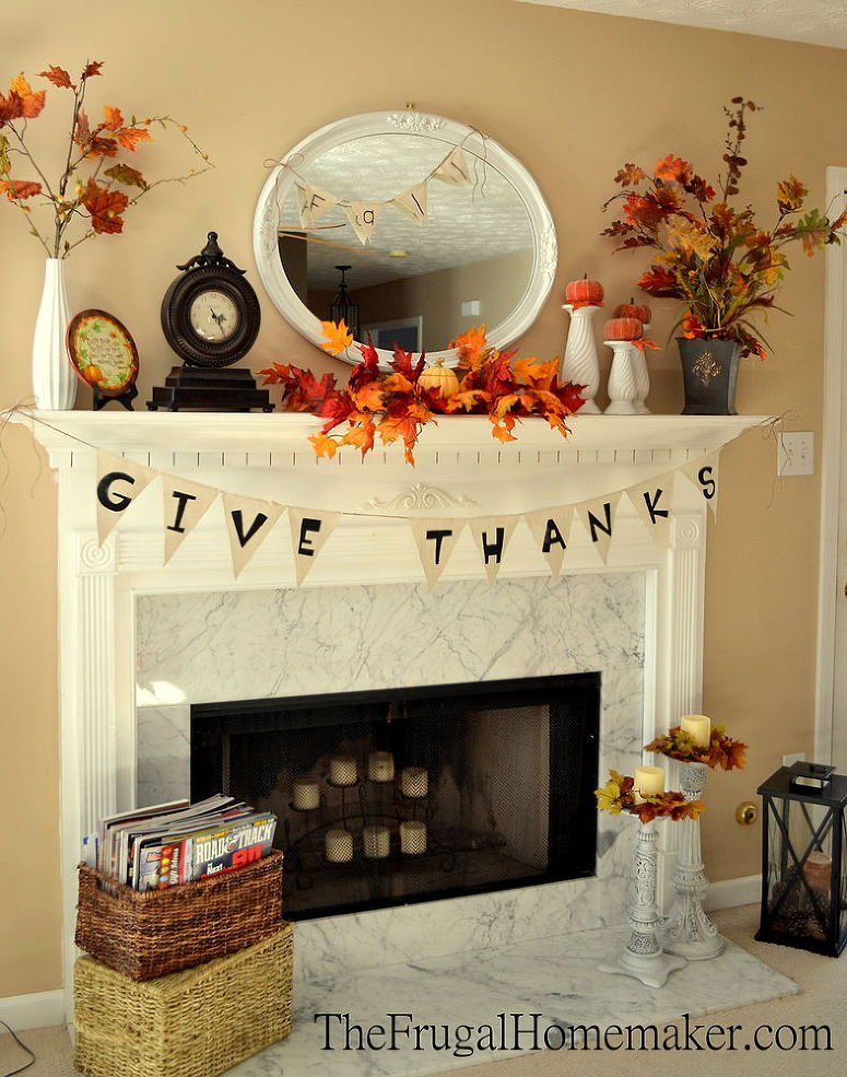 The 26 Most Amazing Fall Mantels You Ve Ever Seen In Every Style You Ve Ever Imagined Huffpost Life