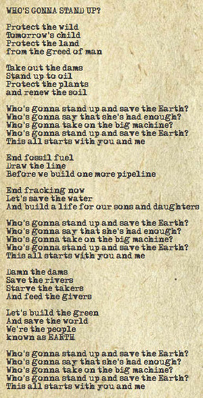 Neil Young: Whos Gonna Stand Up? (And Save the Earth)