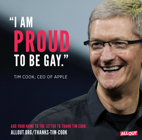 Tim is gay