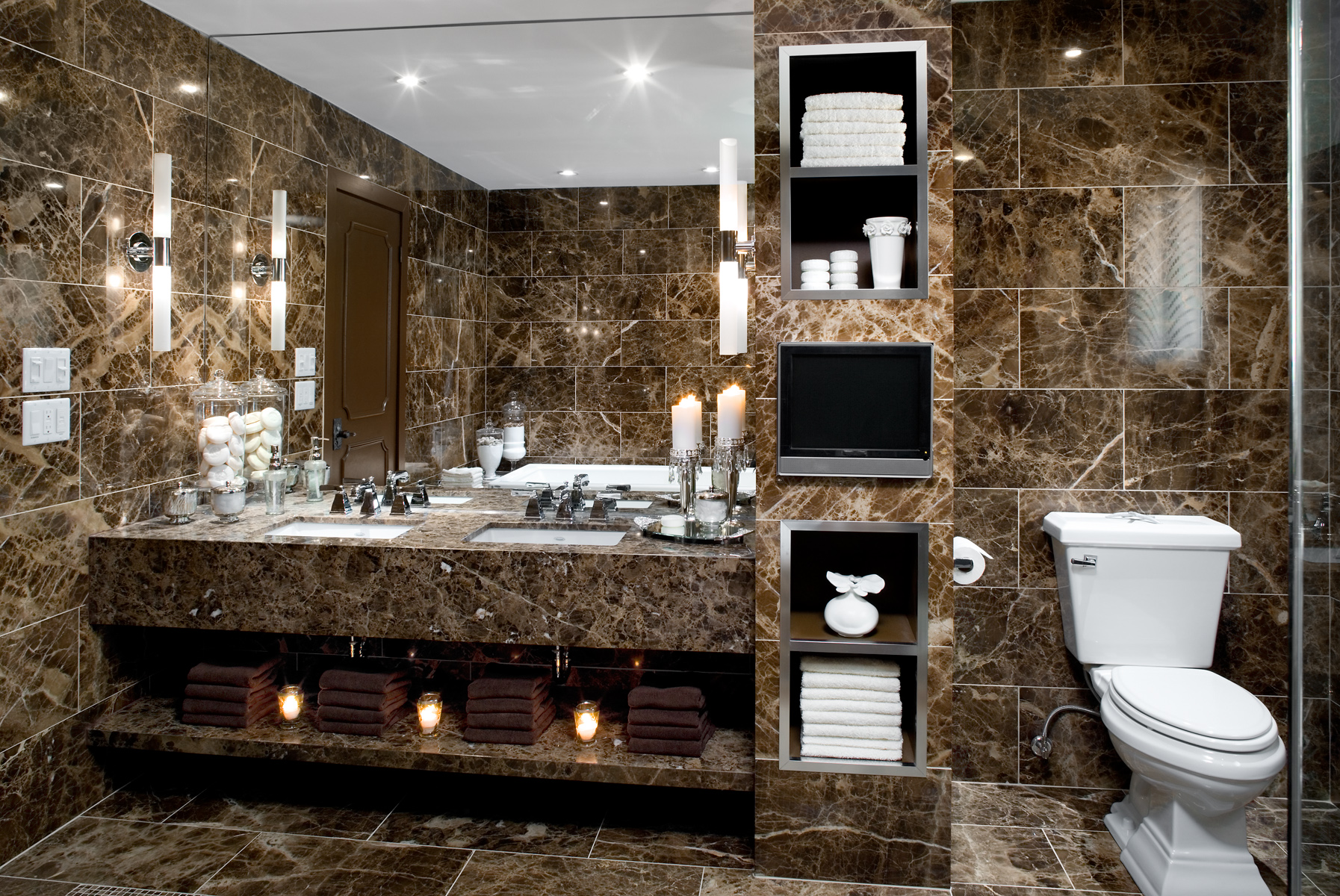 How to create a five star bathroom in your own home for Hotel design italia