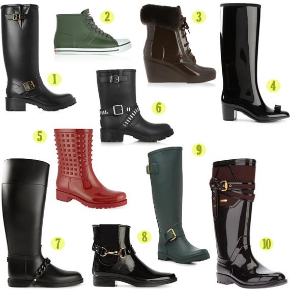 Weekend Shopping Essentials: Rubber Rain Boots | HuffPost UK