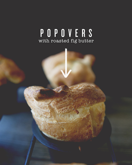 Brown Butter Popovers With Fig Butter: A Kitchy Kitchen Recipe | The ...