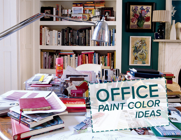 9 office paint color ideas huffpost life