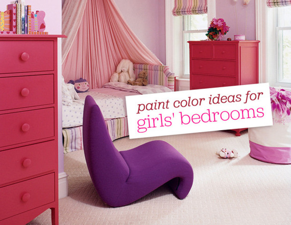 10 perfect little girls 39 room paint colors huffpost for Paint colors for girls bedroom